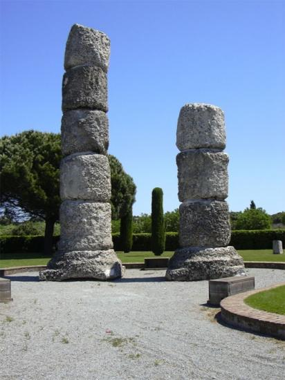 Roman memorial in Fréjus
