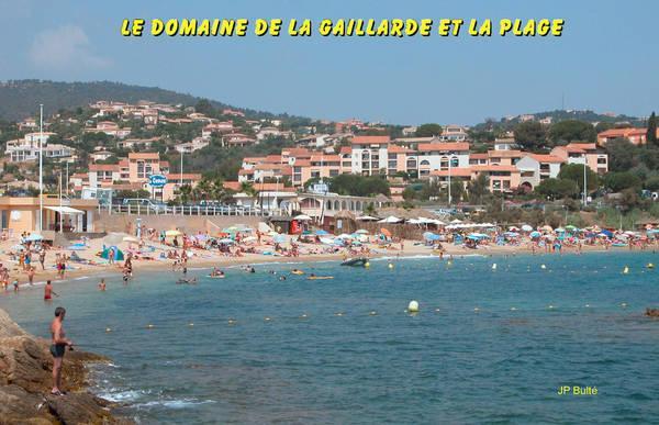"""""""La Gaillarde"""" beach (les Issambres)"""