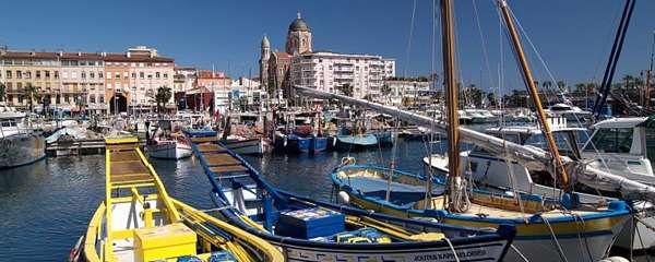 Le port de St Raphael