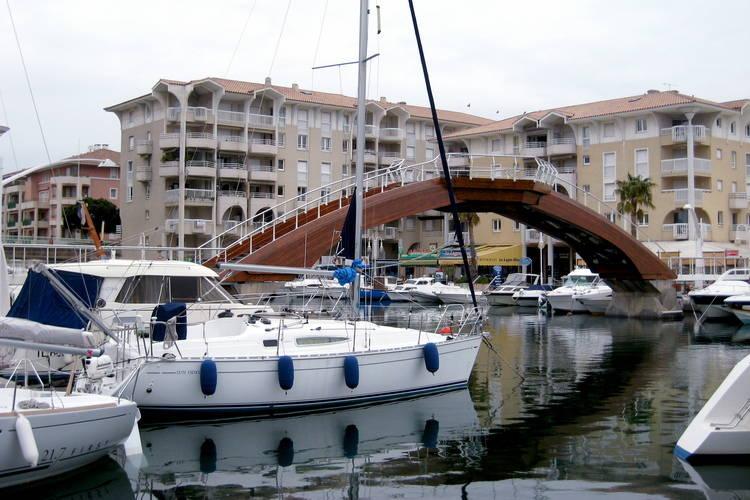 Les bateaux de port Fréjus