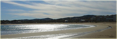 Saint-Aygulf beach