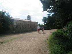 The Church in St Honorat isle