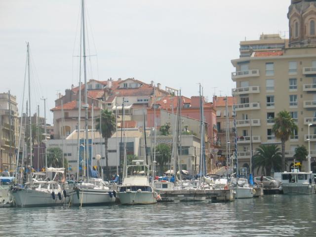 L'arrivée par la mer à St-Raphaël