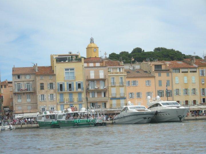 L arrivee au port de St-Tropez