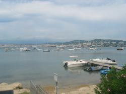 St Marguerite place of boats, in front of Cannes