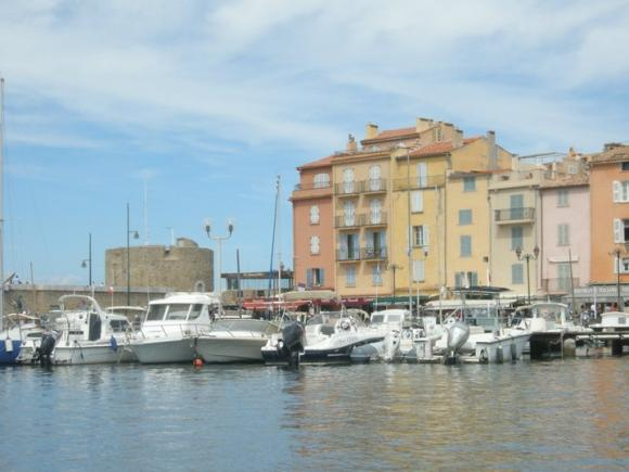 St-Tropez port
