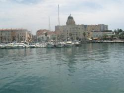 St-Raphael port, in front of the casino