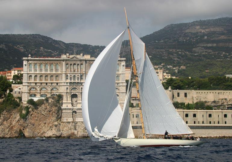 Sailing to Monaco