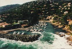 Port Ferreol near villa Martinache