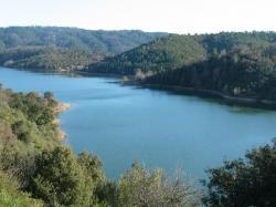 St Cassien Lake near Montauroux